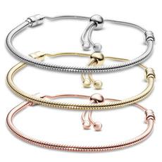Sterling, Charm Bracelet, Chain, Classics