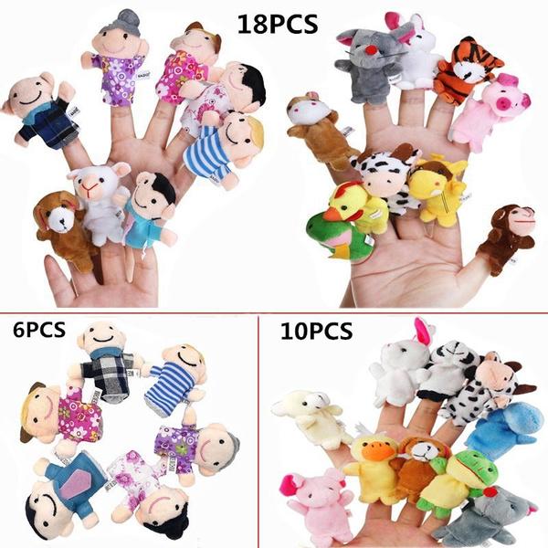 Toy, fingerpuppet, Family, fingerpuppetsset