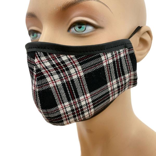 School, plaid, punk, Masks