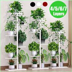 flowerstandforlivingroom, metalplantshelf, Garden, displayshelf