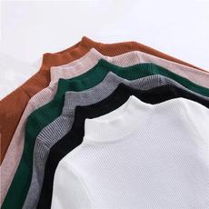 Shorts, Shirt, turtleneck, Long Sleeve