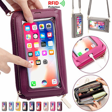 smallshoulderbag, Touch Screen, rfidwallet, Shoulder Bags
