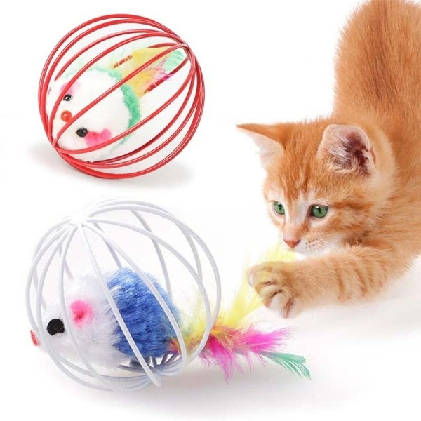 Funny, cattoy, mouseball, Pet Toy