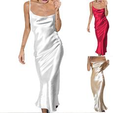 long skirt, Plus Size, Halter, Evening Dress