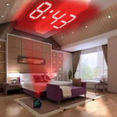 projectionalarmclock, led, thermometerclock, Clock