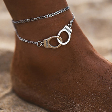 handcuffstyleanklet, Fashion, beachanklet, womensanklet