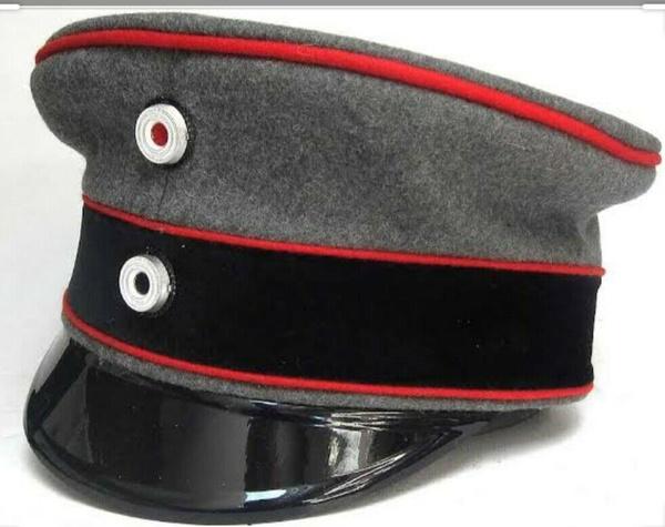 officercap, blackcap, visorhat, ww2german