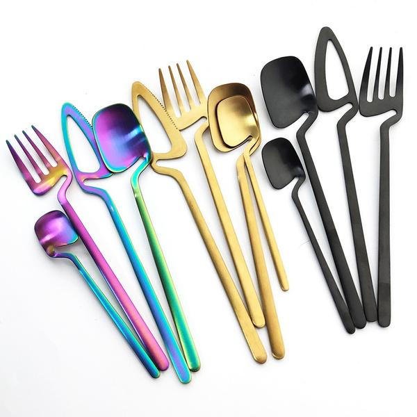 Forks, Coffee, Tool, Stainless Steel