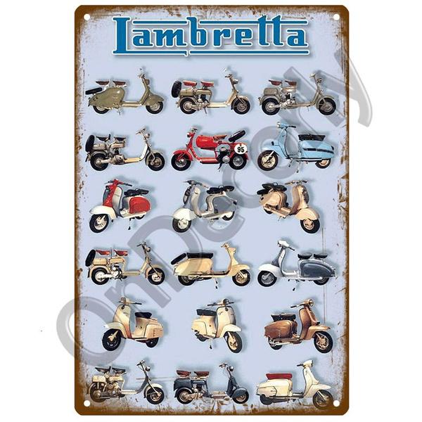 Decor, Vintage, metaltinsignvintage, coollicenseplate