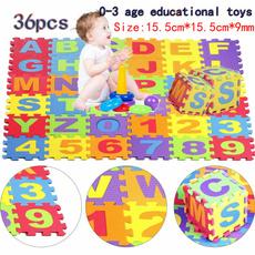 Toy, Mats, alphabet, Rugs