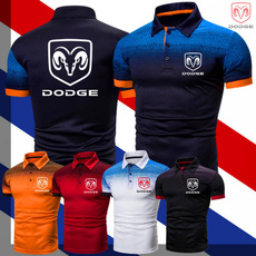 Dodge, Summer, Outdoor, Slim T-shirt