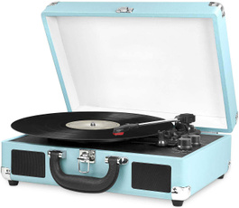Speakers, recordplayer