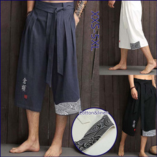 kimonopant, yukatatrouser, Fashion, yukata