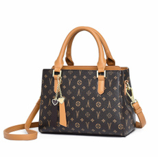 Square, Floral, Totes, leather