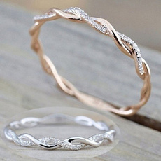 Silver Jewelry, DIAMOND, 925 sterling silver, gold