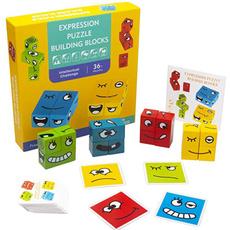 expressionblock, Toy, woodencubepuzzle, cubebuildingblock