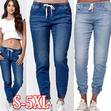 hightwaist, Plus Size, skinny pants, Elastic