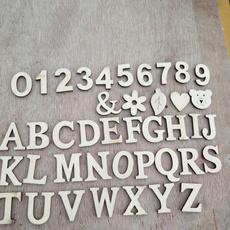 Magnet, numbersmagnetssticker, Wooden, Stickers