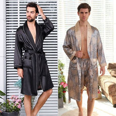 gowns, Plus Size, Men, Bathrobe