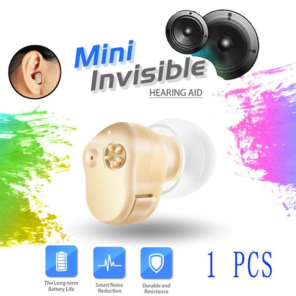 Mini, Ear Bud, batterytypehearingaid, soundamplificationdevice
