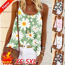 Summer, Vest, Fashion, Women's Fashion