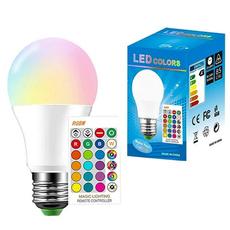 Light Bulb, colorchanging, Remote, Remote Controls