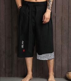 samuraiman, kimonopant, Fashion, japanesetraditionalkimono
