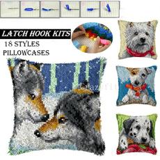 latchhookkit, Knitting, Embroidery, latchhookkitsdiy