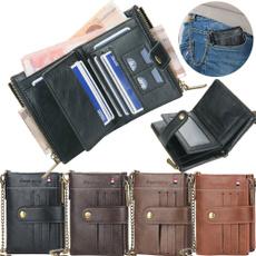 leather wallet, shortwallet, Fashion, Bags
