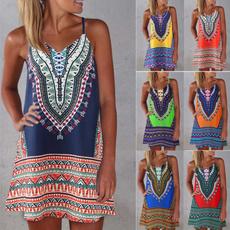 suspenders, Summer, Plus Size, Dress