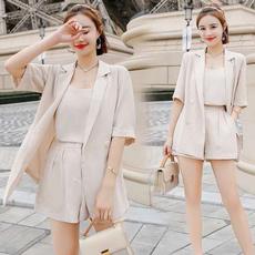 Fashion, koreanversion, threepieceset, leisuretime