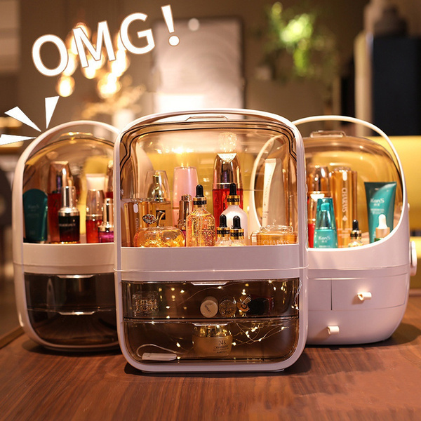 Storage Box, makeuporganizerbox, Bathroom, Fashion
