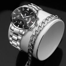 Fashion, Waterproof Watch, business watch, Stainless Steel