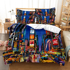 King, twinfullqueenkingsize, Polyester, Sheets & Pillowcases