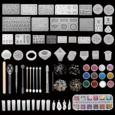 castingmoldskit, diyjewelry, uv, siliconejewelrymold