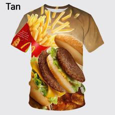 Summer, Fashion, Hamburger, Necks