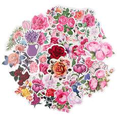 freshflowersticker, Car Sticker, suitcasesticker, Stickers