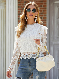 Long sleeved, Tops, Fashion, Lace
