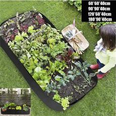 gardenbed, flowerpot, Garden, seedlingbag