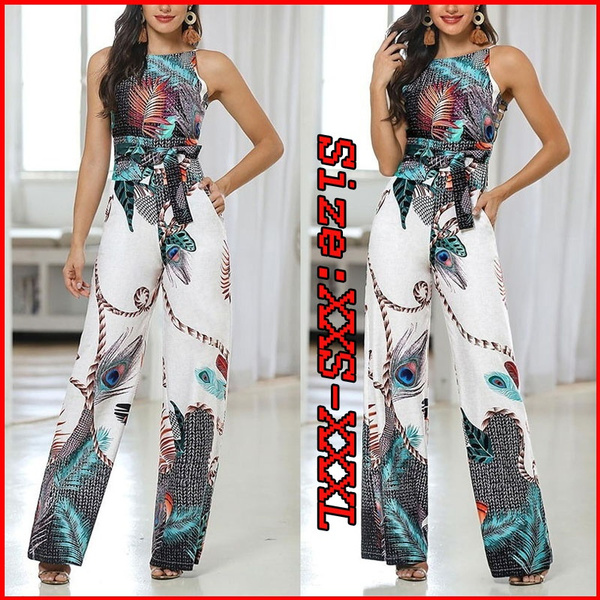 bodycon jumpsuits, Summer, widelegged, Casual