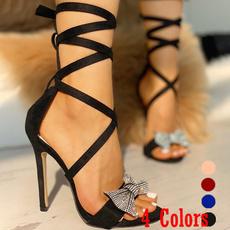 stilettoheel, Women, Sandals, partyshoe