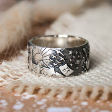 Sterling, engravingring, sterling silver, Jewelry