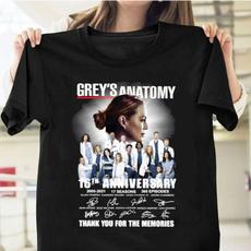 greysanatomy, Shirt, Grey, unisex