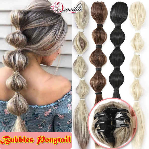 ponytailextension, hair, clip in hair extensions, Hair Extensions