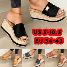 wedge, Flip Flops, Exterior, shoes for womens