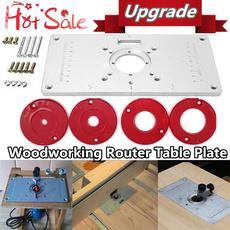 forwoodworking, Aluminum, insertplate, Machine