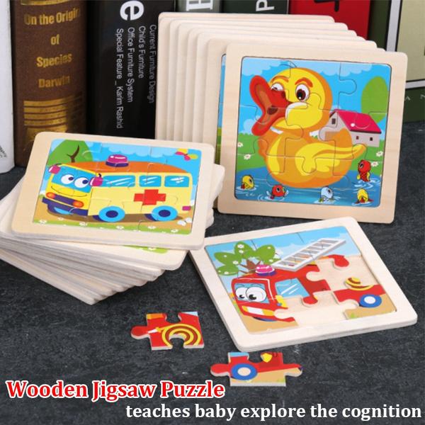 Mini, Toy, Wooden, woodenjigsawpuzzle
