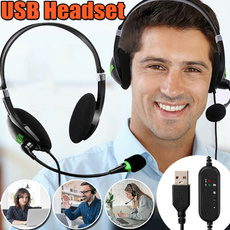 Headset, Microphone, usbcomputerheadset, usb