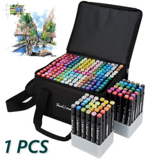 Art Supplies, coloring, markerbox, Children