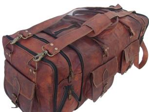 gymdufflebag, leatherdufflebagsformen, Men, duffelhandbagovernighttotebag